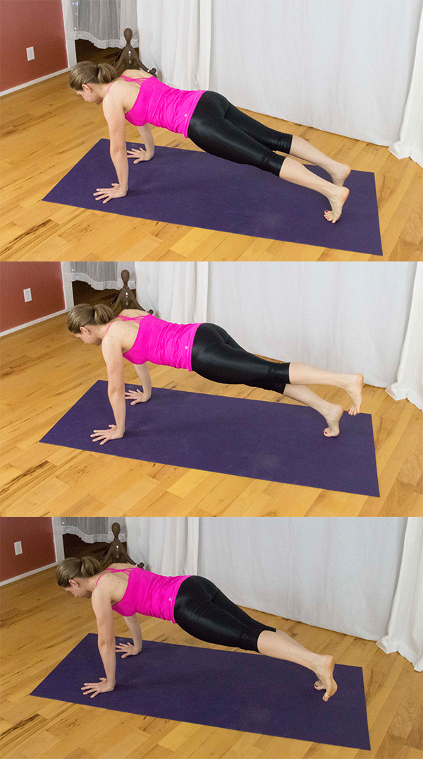 Strengthen your core, protect yourself from lower back pain. Strengthen gluteus medius (hip stablizers) and keep lower back pain and knee pain at bay.  www.irenamiller.com