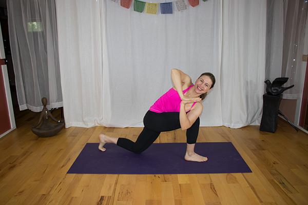 Yoga for Your Waistline. www.irenamiller.com