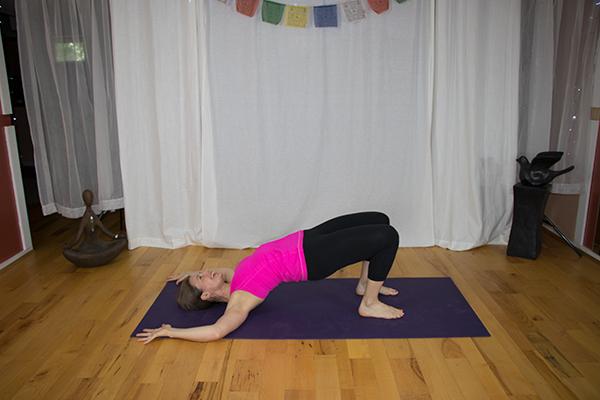 Yoga for open heart, strong back. www.irenamiller.com