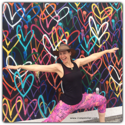 www.irenamiller.com Yoga for Happiness