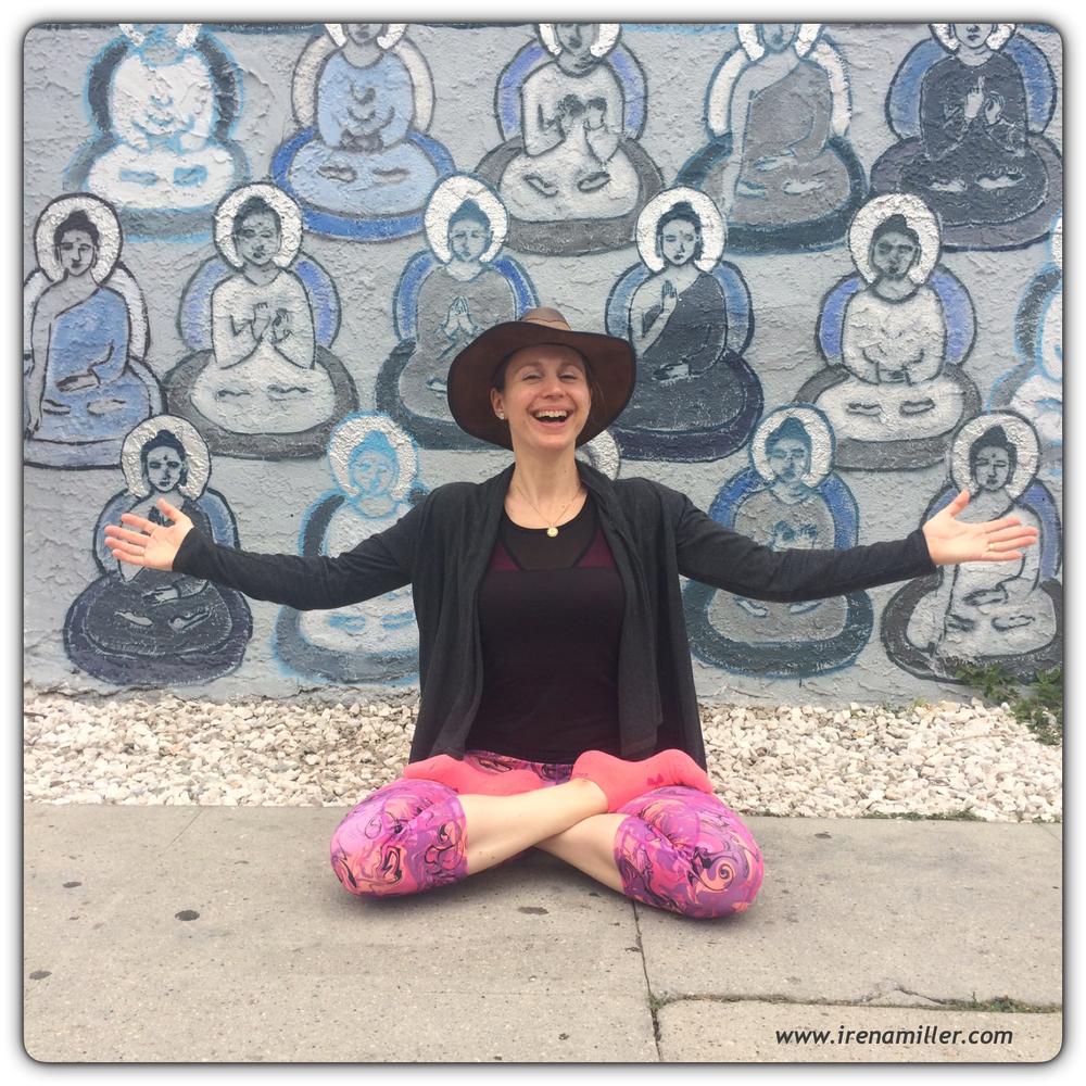 yoga for happiness www.irenamiller.com