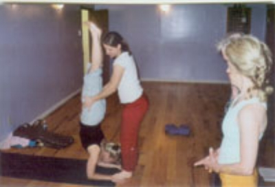 Yoga in Cincinnati, Ohio Small group yoga class with Irena Miller