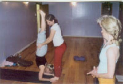 Yoga in Cincinnati, Ohio Small group yoga class with Irena Miller