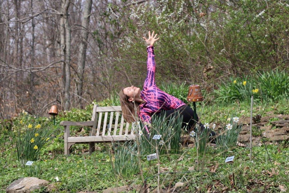 Yoga with Irena Spring Detox www.irenamiller.com