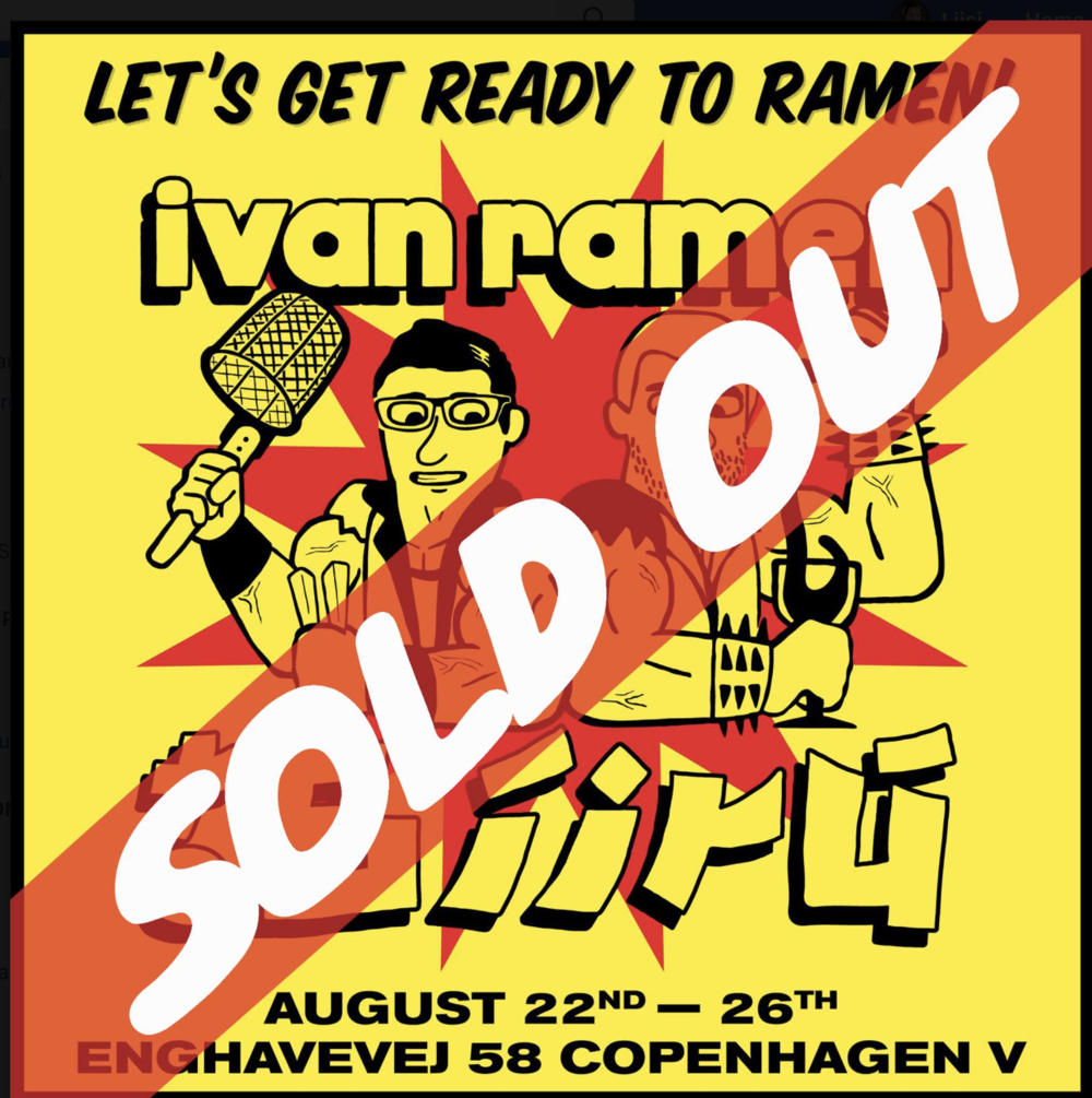 Can't wait to taste the Ramen from legendary Ivan Ramen :)