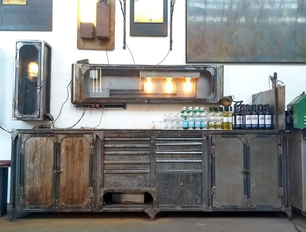 Steam-Punk Furniture and Lighting by Klaus Lipke