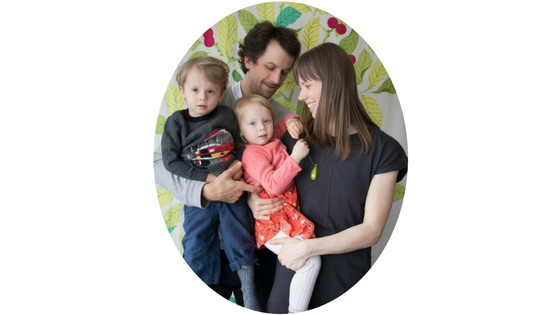 Birth Doula and Family in Toronto