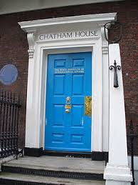 Chatham House in London was one of the think tanks in Anna's study.