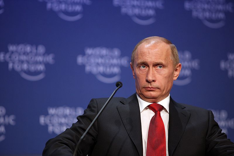 Putin's narrative may convince home audiences but undermines Russia's relations abroad. Image from Wikimedia Commons.