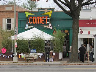 "Pizzagate saw troll culture enter mainstream politics - conspiracies ""for the lulz"" led some to take real action, here at Comet pizzaria in Washington DC. (Wikimedia Commons)"