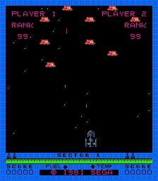 The original shooter, Astro-Blaster!