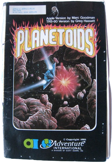 Planetoids, published by Adventure International