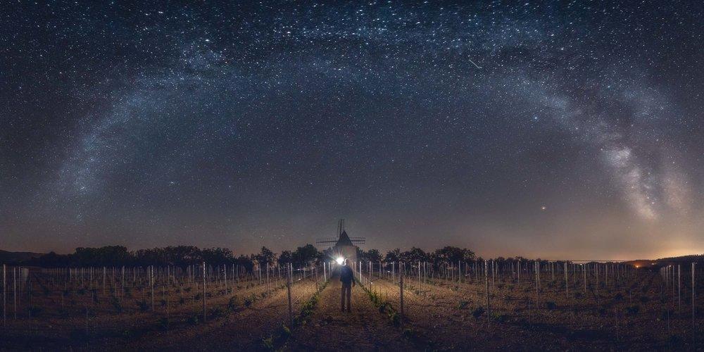 Windmill of Stars