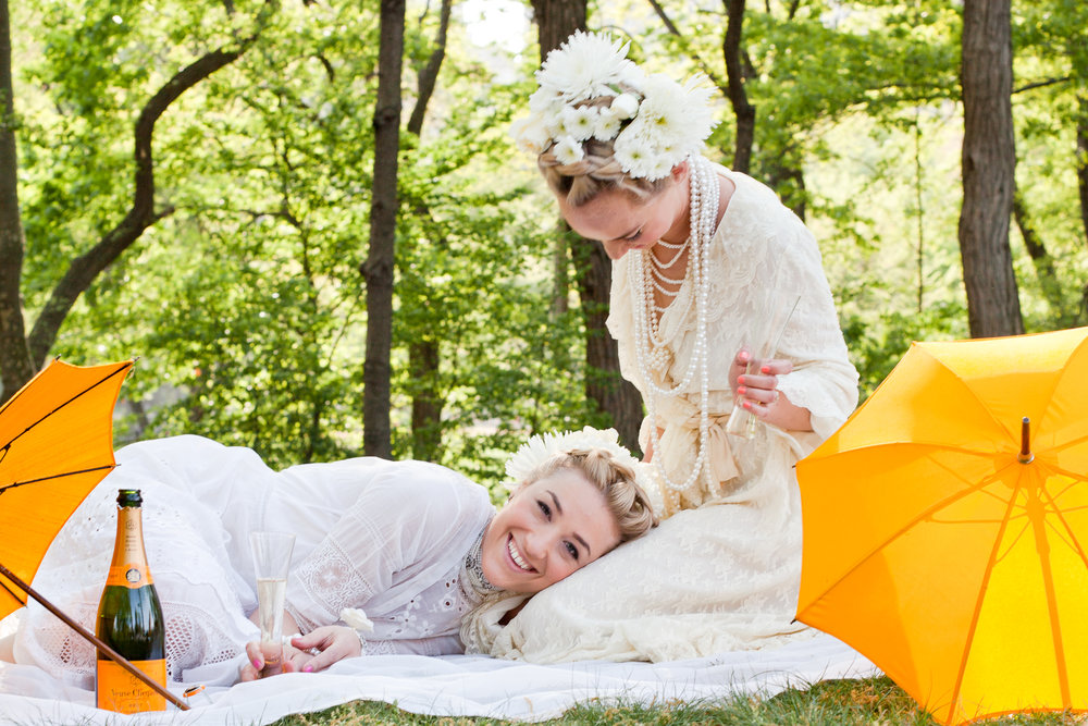 Joy Jacobs Photography Laforce Stevens Veuve Clicquot Central Park Parasol
