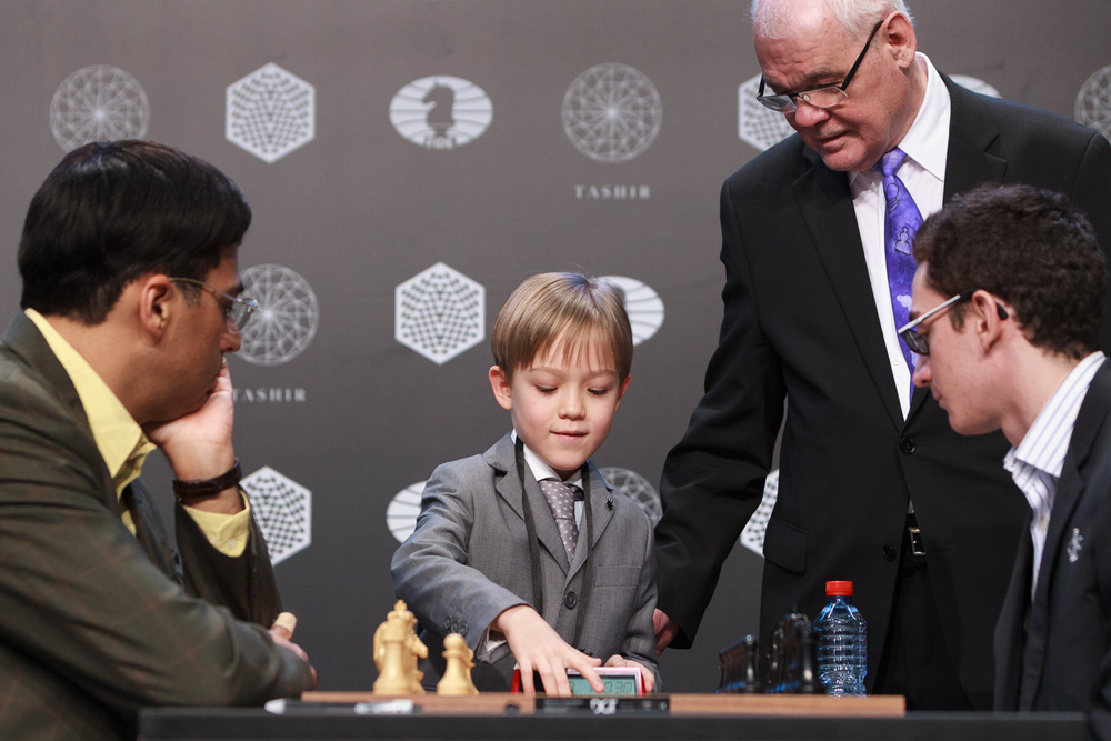 Picture provided by WORLD CHESS Press Office; Evgeny Pogonin