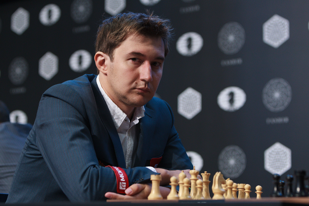 Picture provided by WORLD CHESS Press Office/Evgeny Pogonin.