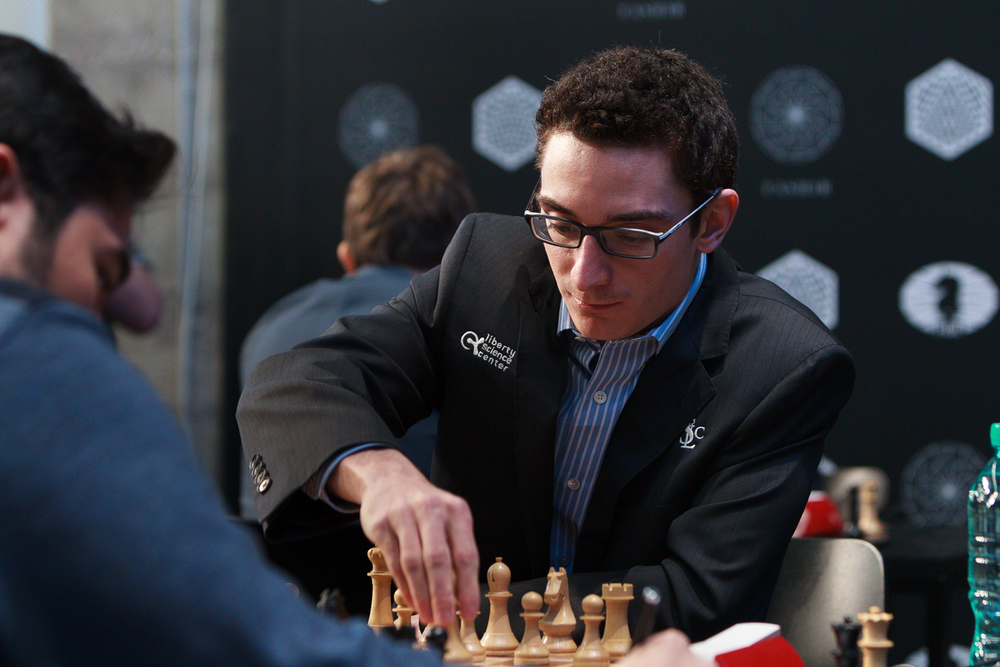 Picture provided by WORLD CHESS Press-Office; Evgeny Pogonin