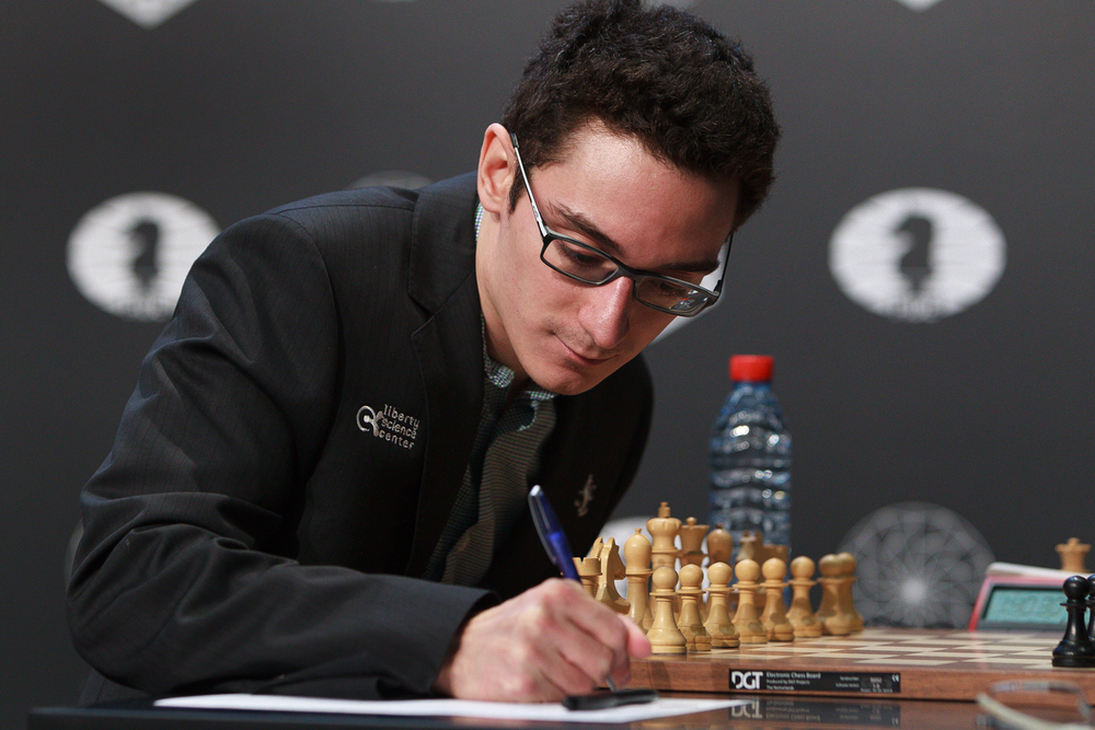 Picture provided by WORLD CHESS Press Office; Evgeny Pogonin.
