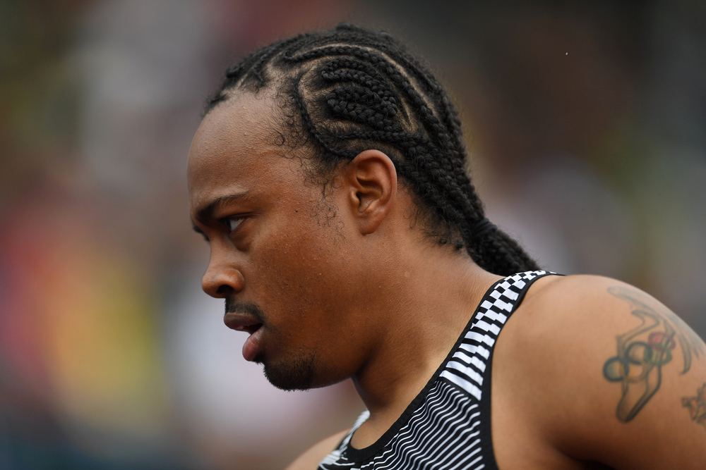 "Merritt wasn't thrilled with his time of 13.64, more than a half-second off his world-record time, but he was happy to advance and is looking to do ""something magical'' in ensuing rounds. But what could be more magical than what he has already done?"