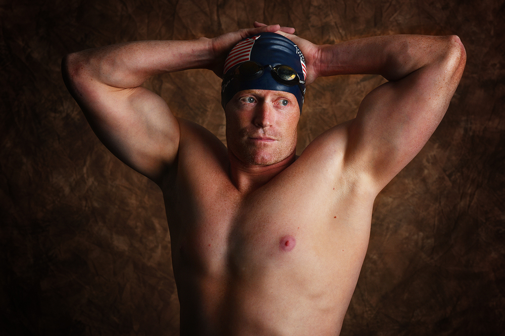 John Edmonston, 36, was a Naval nuclear division officer and is originally from San Jose, California. Edmonston competed in the 50-meter freestyle and 50 breaststroke finals.