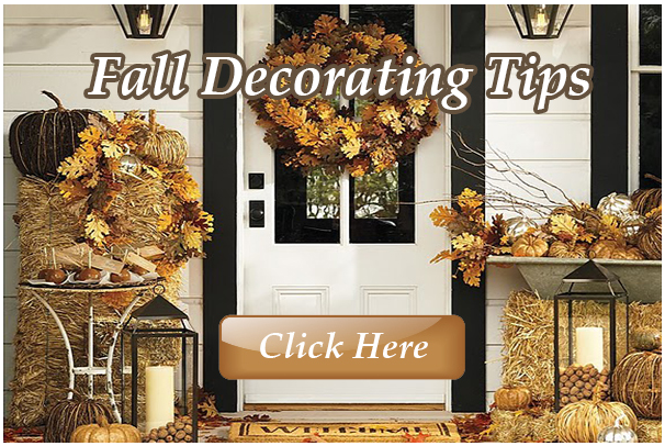 Click the link above or on the picture to check out this week's newsletter with Fall Decorating Tips, newest listing updates from SRE and events in Sandestin!