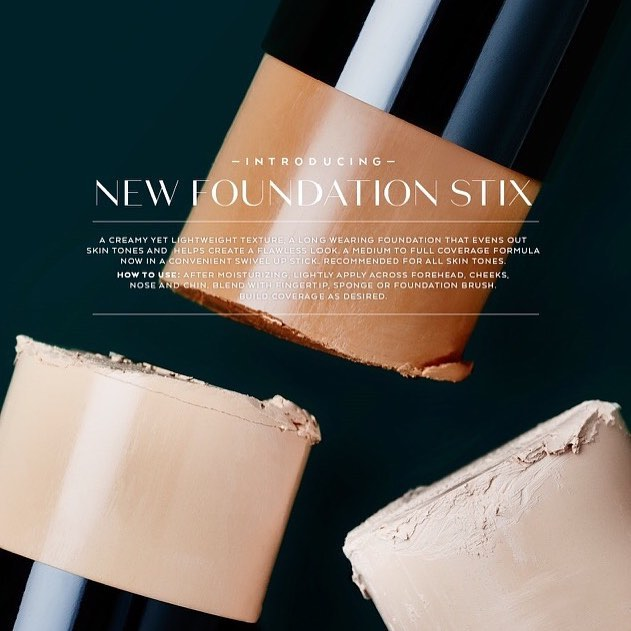 """""""New Year, New Hue"""".. our newest spring collection is all about bringing out the beauty of your skin with our new foundations and formulas."""