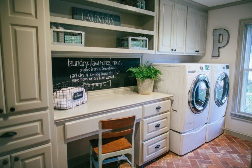 Fixer Upper Dutch Door Laundry Room