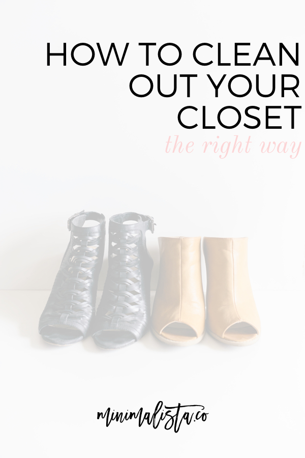 How to clean out your closet the right way - Cleaning out your closet ...