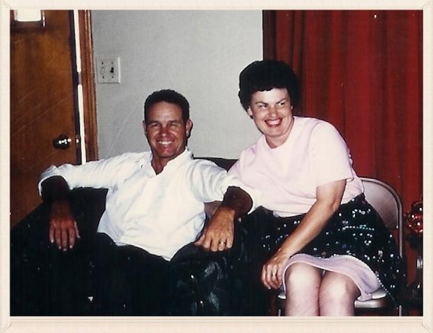 Roy and Earlene, circa 1950