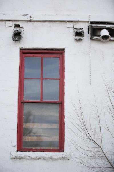 Southern facing window
