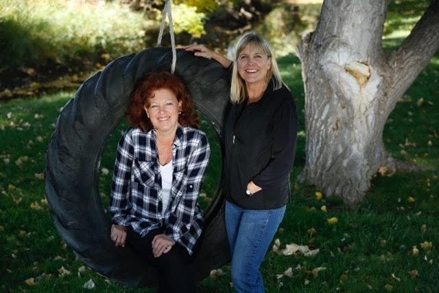 Ginger and Deb.Photo by Marc Piscotty