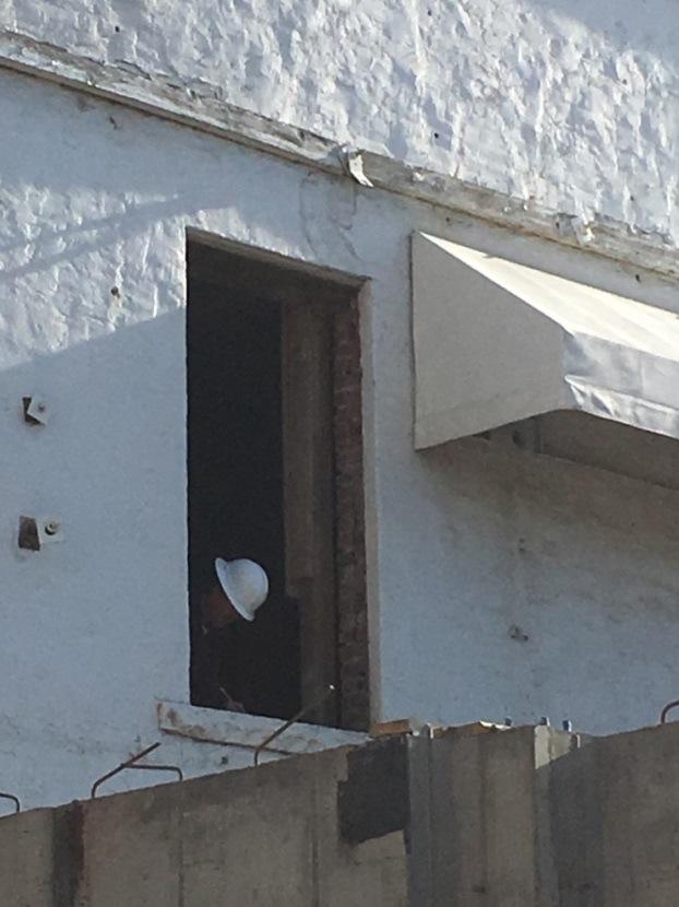 Removing a door.