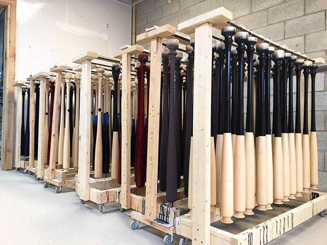 Lots of bats, Lots of fun 🤘🏻 #newyork #milb  #custom #ProLimited #handcrafted #baseball #bats #MapleBats #rugged #authentic #professional #hitting #montreal #canada