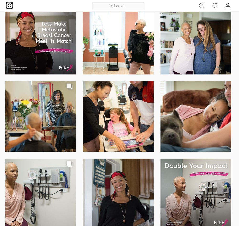 BCRF is currently using the content created on their website, social media, direct marketing, and printed materials to raise necessary funds to support the researchers working towards a cure. // @bcrfcure
