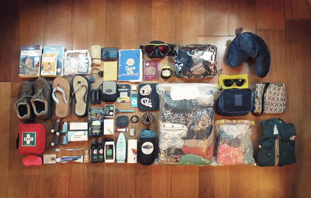 Stef's Travel Gear