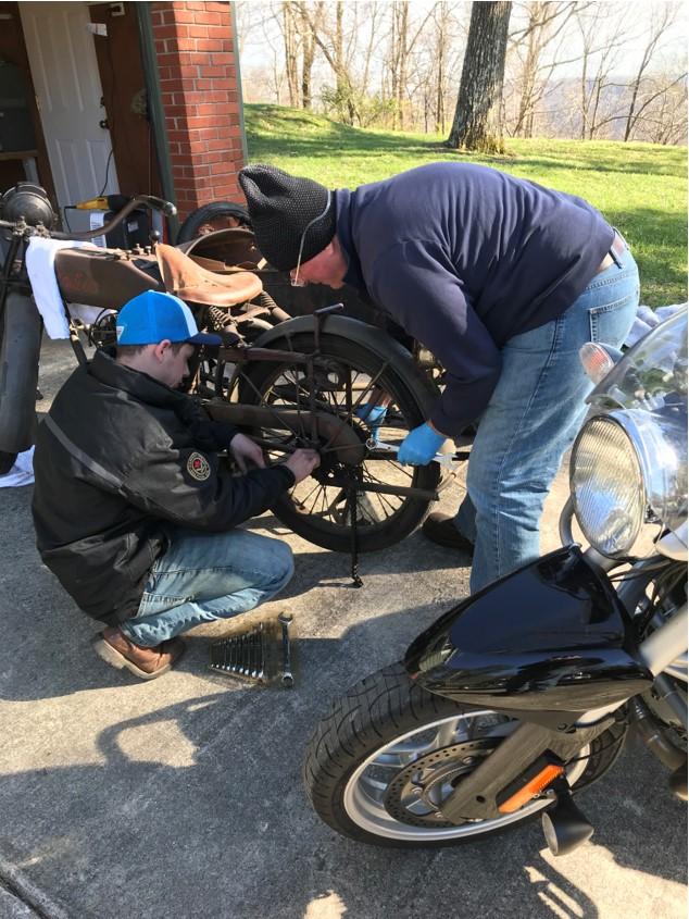 Rear Wheel Remove