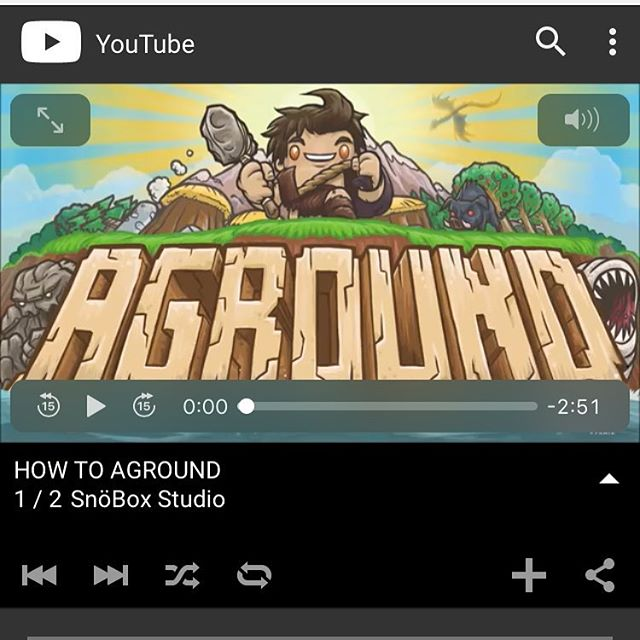 I'm doing YouTube tutorials for #AgroundGame 😁 check out our Channel and let me know what you think! #indiegame #indiedev #kickstarter #crowdfunding #tutorial #howto #gamergirl