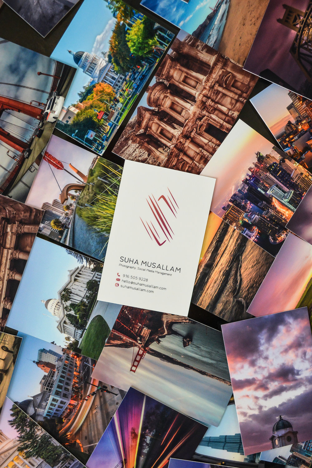 Moo review suha musallam this was my first purchase from moo but before even starting on designing my business card i ordered the moo business card sample pack that they ship at a reheart Image collections