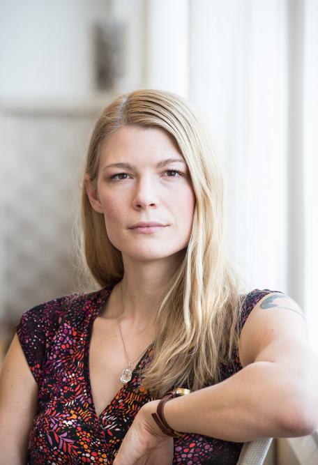 Foto: Anna Hållams för Jönköpings-Posten/Hallpressen. Läs intervjun med mig här.
