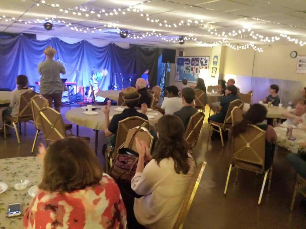 Talented performances occurred at our first ever open mic night! Musicians and singers performed renditions across a variety of genres.