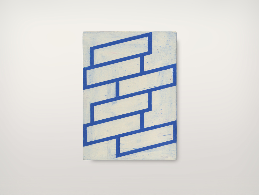 ALAIN BILTEREYST, untitled, 999-2, 2015, acrylic on panel