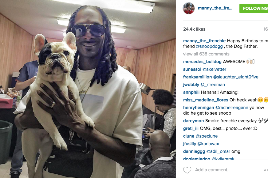 Manny and Snoop Dogg