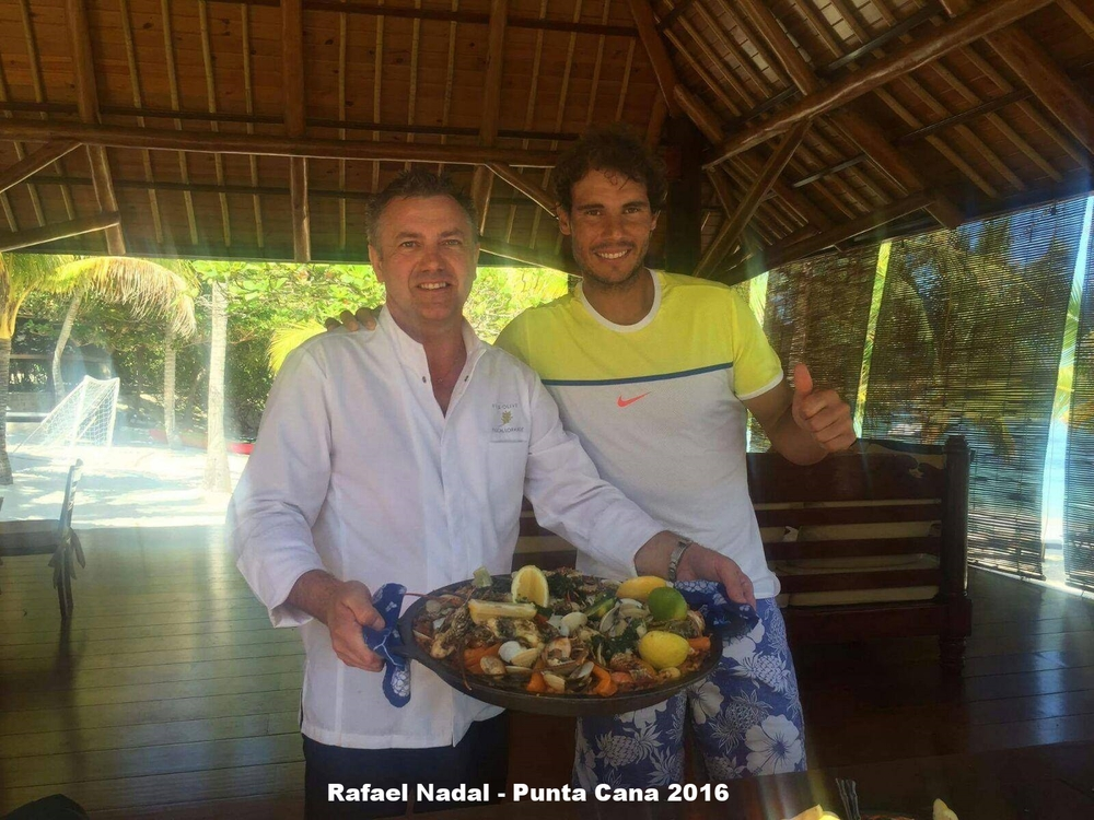 Chef Pascal and Rafael Nadal - Punta Cana - Feb 2016.jpg