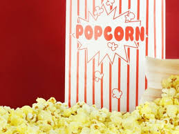 Popcorn set comes with the popcorn kernel, oil, and popcorn bags. It comes in a set of 25 servings for each additional order