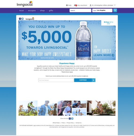 Aquafina Sweepstakes