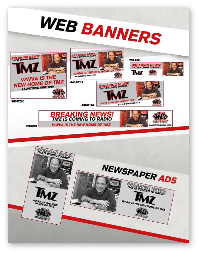 TMZ Radio: Launch Kit