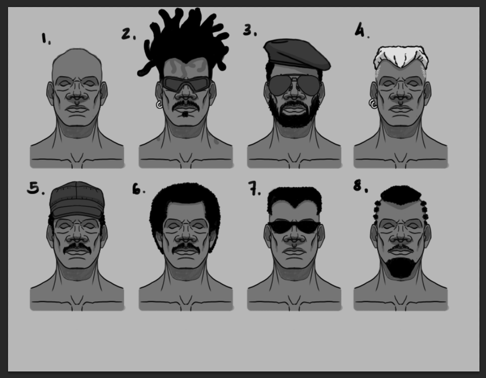 African Head Customization