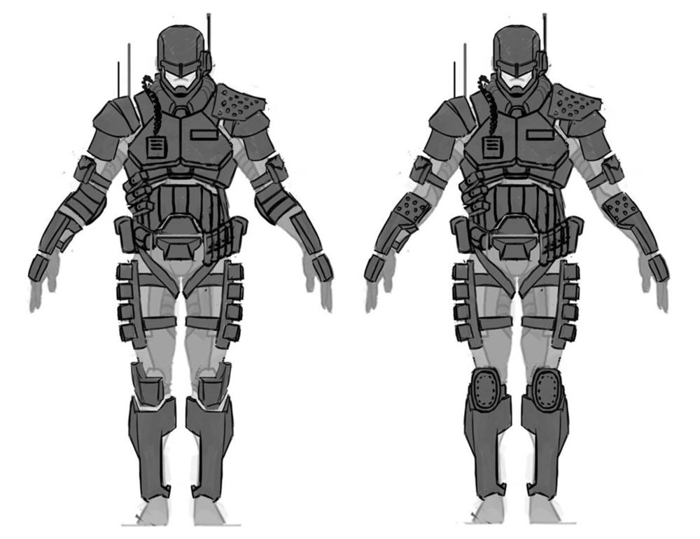 Cop Armor Concept