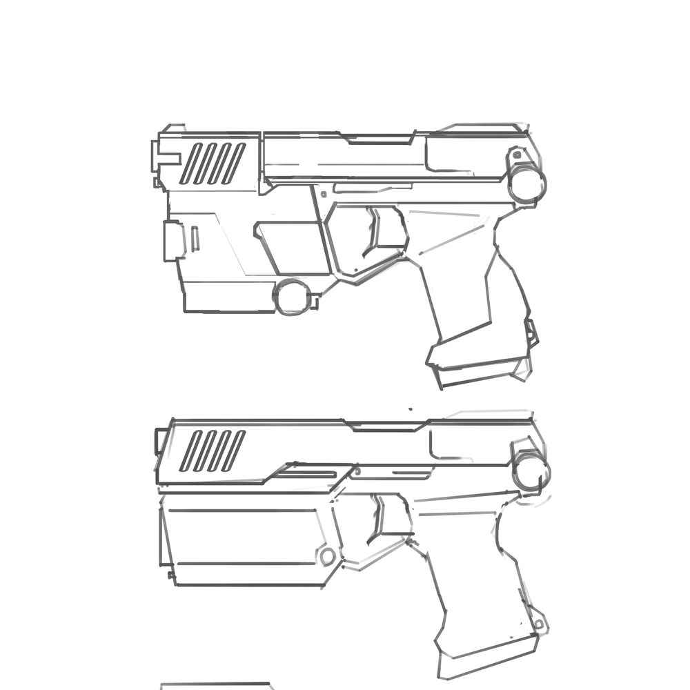 Police Pistol Concept