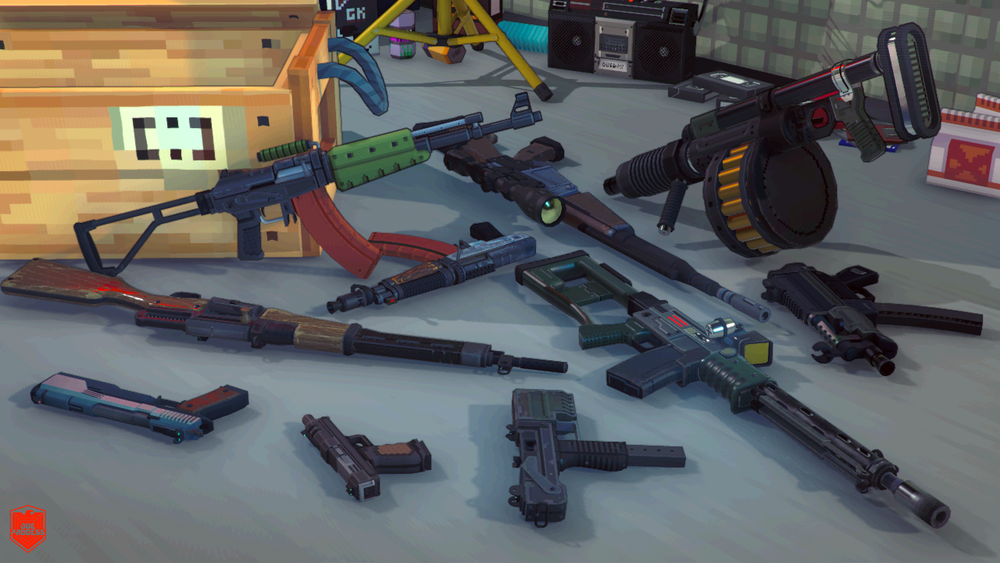 While creating the thumbnails for this post, /u/Lt_Commander put together a compilation image of all Defender Weaponry, which we thought made excellent background fodder. Enjoy!